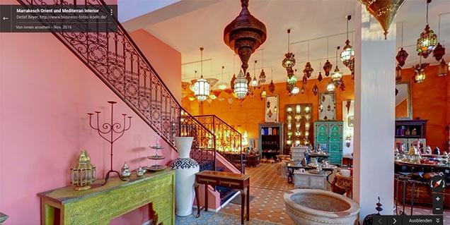 Marrakesch Orient und Mediterran Interior