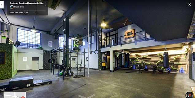 Bootbox - Premium Fitnessstudio Köln - Streetview