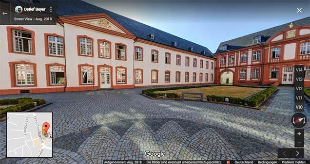 Abtei Brauweiler Streetview Trusted