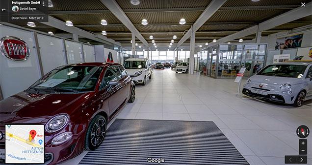 Autohaus Hottgenroth 360° Panorama